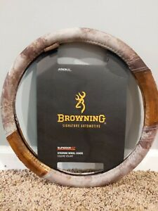Nwt Browning Signature Steering Wheel Cover Superior Fit Msrp 17 99 Free Decal