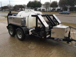 Trailer Mounted Sewer Drain Cleaner Pipe Hydro Jetter W Camera