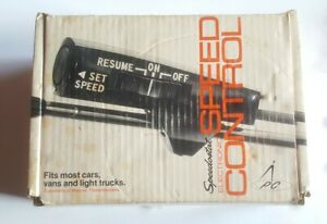 Vintage Speedostat Electronic Speed Control Cruise Control New In Box 250 1011