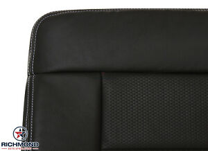 2004 2005 Ford F150 Fx4 Driver Side Bottom Replacement Leather Seat Cover Black