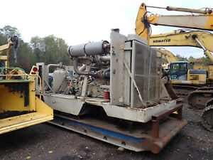 1996 Ingersoll Rand Xhp900 High Pressure Air Compressor 900 350 Psi Cat 3406
