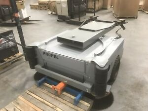 Onfloor Propel 60 Floor Sweeper Attachment For Forkliftswarehouse W New Brushes