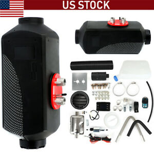 12v 8kw Diesel Air Heater Lcd Monitor For Trucks Bus Boats Indoor Home Car Us
