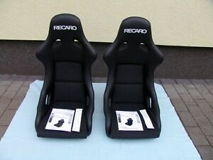 Recaro Pole Position Seats Artificial Leather Dinamica Cloth Pair Brand New