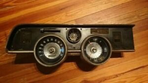 1967 68 Mercury Cougar Dash Cluster And Panel