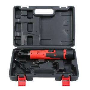 Ridgeyard Cordless Electric Ratchet Wrench Kit 3 8 W Battery Charger Kit 12v