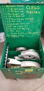 Greenlee 1818 Conduit Bender With Shoes follow Bars Boxes Emt Imc Rgd Sets