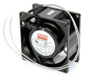 Dayton 3le75 Axial Fan Square 115vac 1 Phase 31 Cfm 3 1 8 W