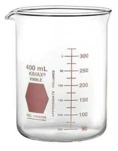 Kimble Kimax 14000r 150 Griffin Beaker 150ml glass clear pk12