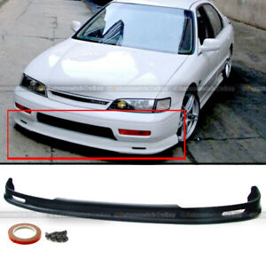 Fits 96 97 Honda Accord 2 4dr Mugen Style Front Bumper Lip Bodykit Lower Spoiler