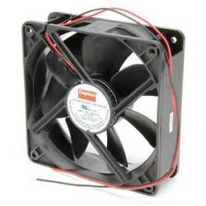 Dayton 6kd74 Axial Fan Square 24vdc Phase 138 Cfm 4 11 16 W
