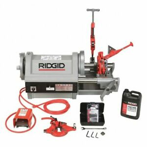 Ridgid 26092 Pipe Threading Machine 1 4 To 4 In