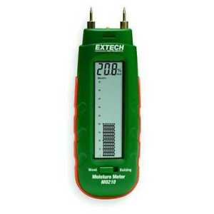 Extech Mo210 Digital Moisture Meter With Bargraph