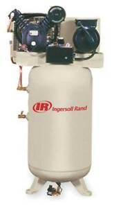 Ingersoll Rand 2475n5 p 460 Electric Air Compressor 2 Stage 16 8 Cfm