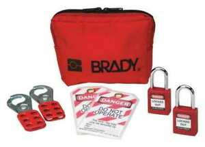 Brady 99290 Portable Lockout Kit 7components filled