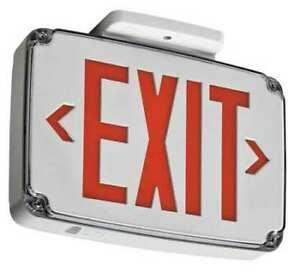 Lithonia Lighting Wlte W 2 R Acuity Lithonia Thermoplastic Led Exit Sign