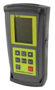 Test Products Intl 707 Combustion Analyzer 0 To 10 000 Ppm lcd