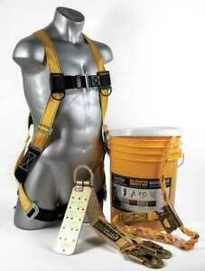 Guardian 00805 Roofer s Fall Protection Kit Size S l