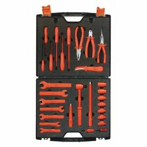 Jameson itl 00007 1000v Insulated Maintenance Metric Tool Set 29 piece