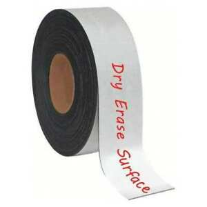 Mastervision Fm2118 Magnetic Strip Roll 2 H 50 Ft L