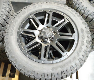 20 Toyota Tundra 2019 2020 Tss Trd Oem Wheels And Goodyear Duratrac A t Tires