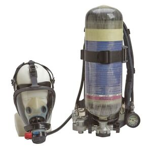 Industrial Scba 30 Min Duration Carbon 2216 Psi M Mask Size