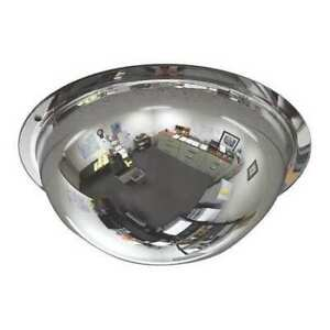 Zoro Select Onv 360 8 8 Dia Indoor Full Dome Mirror 360 Viewing Angle
