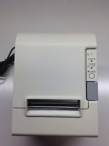 Epson Tm t88iv Thermal Receipt Printer M129h Parallel Port No Ac Adapter