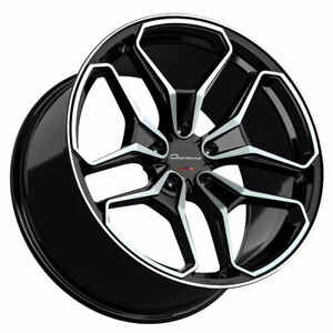 20 Giovanna Huraneo 20x8 5 20x10 Concave Wheels Rims Fit Hyundai Genesis Coupe