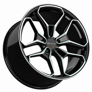 22 Giovanna Huraneo 22x9 22x10 5 Concave Wheels Rims Fits Dodge Charger