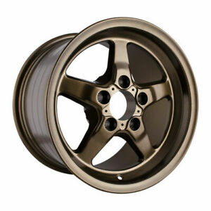 Race For Star 92 Drag Star 15x10 5x4 50bc 7 25bs Matte Bronze Wheel 92 510154mbz