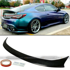 For 10 12 Hyundai Genesis Coupe Sport High Kick Style Rear Trunk Wing Spoiler