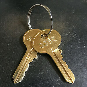 2 Hon Filing Cabinet Replacement Keys From Key Code 301e 450e free Tracking