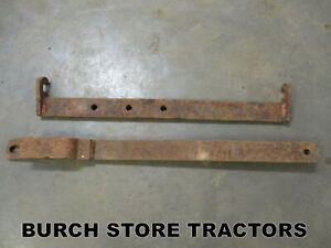 Ih Farmall Swinging Drawbar 140 130 Super A 100 Tractors