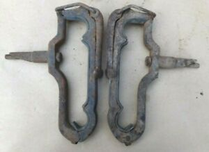 1909 1927 Top Bow Saddles Clamps Original Pair 418 Model T Ford Dodge