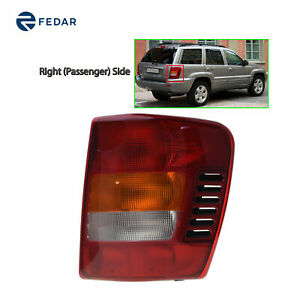 Replacement Tail Light Fit 1999 2004 Jeep Grand Cherokee Passenger Side