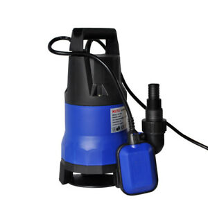 Submersible Pumps Portable Transfer Water Pump 1 Hp 4200gph