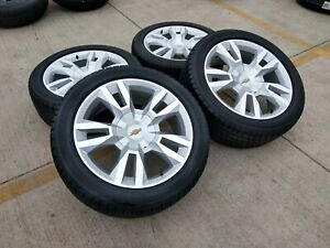 22 Chevy Tahoe Suburban Premier Oem Wheels Rims Tires Oe 5620 2018 2019 2020