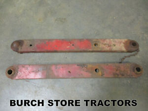 Pair Of Farmall 3 Point Hitch Lift Arms 140 130 Super A 100 Tractors