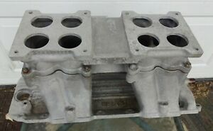 Chevy Big Block Weiand 2 Four Tunnel Ram Intake Manifold For Dominators 29912983
