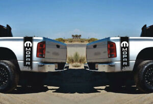 Dodge Ram 1500 2500 3500 2x Decals Side Graphics Vinyl Racing Sticker Mopar Logo
