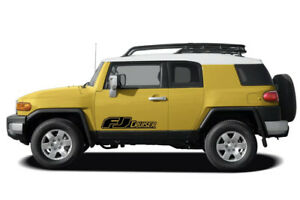 Toyota Fj Cruiser 2x Side Stripes Vinyl Body Decal Sticker Graphics Emblem Logo