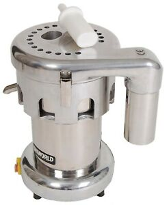Commercial 1 Hp Fruit Vegetable Juicer Extractor 750w Etl Certified Ujc 750e