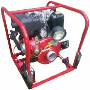 Cet 350 Gpm 2 1 2 Electric Start Diesel Water Pump W Yanmar Engine