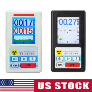 Display Screen Geiger Counter Nuclear Radiation Detector Beta Gamma X ray Tester