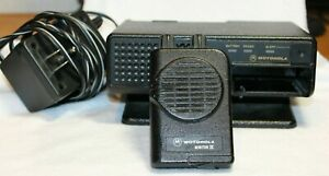 Motorola Minitor Iv Pager And Amplified Charger