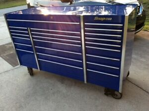 Snap On Triple Bank Tool Box Krl Series Royal Blue Tools Not Included