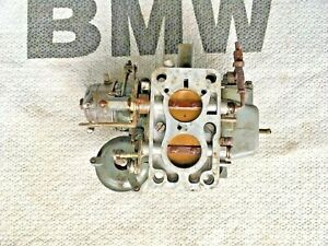 Vintage Solex Carburetor Downdraft Bmw 2002 68 74 2 Barrel 32 Dia Rare Germany