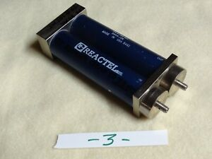 Reactel Lowpass Filter 80mhz 70db Above 105mhz Clean Reject Response To 3 8g