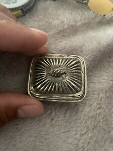 Antique William B Meyers Miniature Dollhouse Sterling Silver Tureen
